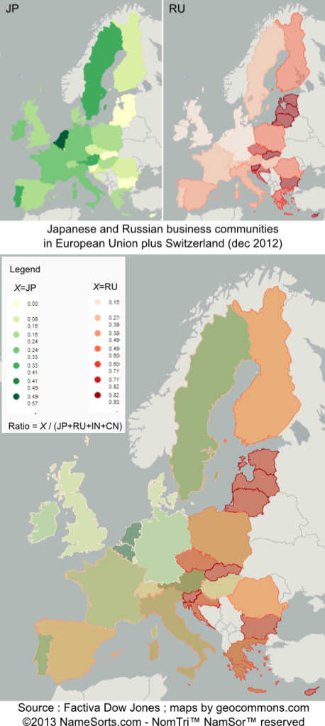 Japanese and Russian Business Comunities in EU plus Switzerland (vF)
