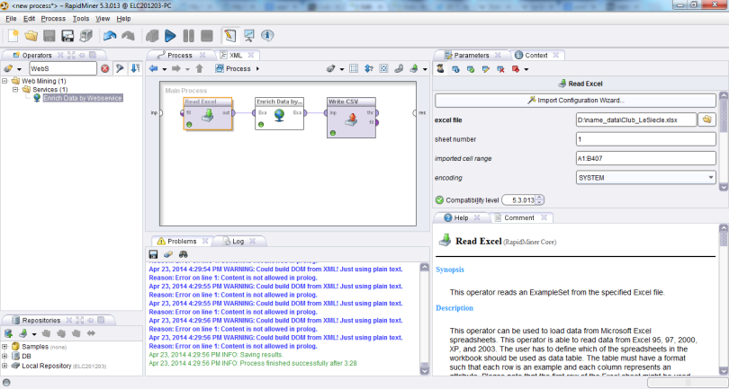 2014_RapidMiner_7_Run